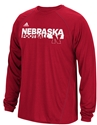 Adidas Nebraska Football Embrace The Grind LS Tee Nebraska Cornhuskers, Nebraska  Mens T-Shirts, Huskers  Mens T-Shirts, Nebraska  Mens, Huskers  Mens, Nebraska  Long Sleeve, Huskers  Long Sleeve, Nebraska Adidas Nebraska Football Embrace The Grind LS Tee, Huskers Adidas Nebraska Football Embrace The Grind LS Tee