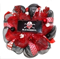 Blackshirt Wreath Nebraska Cornhuskers, Blackshirt Husker Wreath