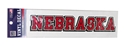 Block Nebraska Decal Nebraska Cornhuskers, Nebraska Vehicle, Huskers Vehicle, Nebraska Stickers Decals & Magnets, Huskers Stickers Decals & Magnets, Nebraska Block Nebraska Decal, Huskers Block Nebraska Decal