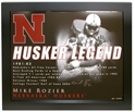 Framed Rozier Legend Print Nebraska Cornhuskers, Nebraska  Framed Pieces, Huskers  Framed Pieces, Nebraska Framed Rozier Legend Print, Huskers Framed Rozier Legend Print