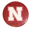 Go Big N Red Magnet Nebraska Cornhuskers, Go Big N Red Magnet