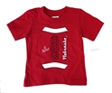 Go Big Red Football Youngsters Tee Nebraska Cornhuskers, Nebraska  Infant, Huskers  Infant, Nebraska  Childrens, Huskers  Childrens, Nebraska  Kids, Huskers  Kids, Nebraska  Short Sleeve, Huskers  Short Sleeve, Nebraska Go Big Red Football Youngsters Tee, Huskers Go Big Red Football Youngsters Tee