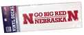 Go Big Red Nebraska Decal Nebraska Cornhuskers, Nebraska Vehicle, Huskers Vehicle, Nebraska Stickers Decals & Magnets, Huskers Stickers Decals & Magnets, Nebraska Go Big Red Nebraska Decal, Huskers Go Big Red Nebraska Decal