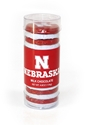 Husker Milk Chocolate Tube Rounds Nebraska Cornhuskers, Nebraska  Kitchen & Glassware, Huskers  Kitchen & Glassware, Nebraska  Novelty, Huskers  Novelty, Nebraska  Tailgating, Huskers  Tailgating, Nebraska Husker Milk Chocolate Tube Rounds, Huskers Husker Milk Chocolate Tube Rounds