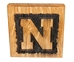 Husker N Wood 4 Pack Bottle Opener Coaster Set - KG-A3008