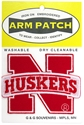 Huskers N Logo 3 Inch Embroidered Patch Nebraska Cornhuskers, Nebraska  Tattoos & Patches, Huskers  Tattoos & Patches, Nebraska  Tattoos & Patches, Huskers  Tattoos & Patches, Nebraska Huskers N Logo 3 Inch Embroidered Patch, Huskers Huskers N Logo 3 Inch Embroidered Patch