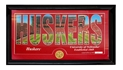 Huskers Pano Photo Coin Plaque Nebraska Cornhuskers, Nebraska Collectibles, Huskers Collectibles, Nebraska  Framed Pieces, Huskers  Framed Pieces, Nebraska  Office Den & Entry, Huskers  Office Den & Entry, Nebraska Huskers Pano Photo Coin Plaque, Huskers Huskers Pano Photo Coin Plaque