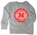 Kids University of Nebraska Crest Crew Sweatshirt Nebraska Cornhuskers, Nebraska  Childrens, Huskers  Childrens, Nebraska  Kids, Huskers  Kids, Nebraska Pink, Huskers Pink, Nebraska Kids University of Nebraska Crest Crew Sweatshirt, Huskers Kids University of Nebraska Crest Crew Sweatshirt