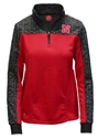 Ladies Nebraska Scaled Quarter Zip Colosseum Jacket Nebraska Cornhuskers, Nebraska  Ladies Outerwear, Huskers  Ladies Outerwear, Nebraska  Ladies Sweatshirts, Huskers  Ladies Sweatshirts, Nebraska  Ladies, Huskers  Ladies, Nebraska  Zippered, Huskers  Zippered, Nebraska  Ladies Tops, Huskers  Ladies Tops, Nebraska Ladies Nebraska Scaled Quarter Zip Colosseum Jacket, Huskers Ladies Nebraska Scaled Quarter Zip Colosseum Jacket
