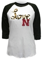 Love Nebraska Pixi Raglan Nebraska Cornhuskers, Nebraska  Ladies, Huskers  Ladies, Nebraska  Long Sleeve, Huskers  Long Sleeve, Nebraska  Ladies T-Shirts, Huskers  Ladies T-Shirts, Nebraska Love Nebraska Pixi Raglan, Huskers Love Nebraska Pixi Raglan