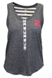 NU Striped Henley Tank - AT-A1004