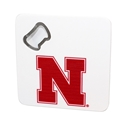 Nebraska Bottle Opener Coaster Nebraska Cornhuskers, Nebraska  Kitchen & Glassware, Huskers  Kitchen & Glassware, Nebraska  Tailgating, Huskers  Tailgating, Nebraska  Game Room & Big Red Room , Huskers  Game Room & Big Red Room , Nebraska Nebraska Bottle Opener Coaster, Huskers Nebraska Bottle Opener Coaster