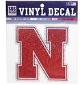 Nebraska Confetti Logo Nebraska Cornhuskers, Nebraska Vehicle, Huskers Vehicle, Nebraska Stickers Decals & Magnets, Huskers Stickers Decals & Magnets, Nebraska Nebraska Confetti Logo, Huskers Nebraska Confetti Logo