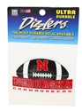 Nebraska Cornhuskers Football Dizzler Decal Nebraska Cornhuskers, Nebraska Stickers Decals & Magnets, Huskers Stickers Decals & Magnets, Nebraska Nebraska Cornhuskers Football Dizzler Decal, Huskers Nebraska Cornhuskers Football Dizzler Decal