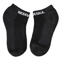 Nebraska No Show Black Sock Nebraska Cornhuskers, Nebraska  Footwear, Huskers  Footwear, Nebraska  Underwear & PJ%27S, Huskers  Underwear & PJ%27S, Nebraska  Ladies Accessories, Huskers  Ladies Accessories, Nebraska  Mens Accessories , Huskers  Mens Accessories , Nebraska Nebraska No Show Black Sock, Huskers Nebraska No Show Black Sock