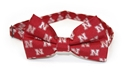 Red N Repeat Bowtie Nebraska Cornhuskers, Nebraska  Ties & Pins, Huskers  Ties & Pins, Nebraska  Mens, Huskers  Mens, Nebraska  Mens Accessories, Huskers  Mens Accessories, Nebraska Red Husker Bowtie, Huskers Red Husker Bowtie