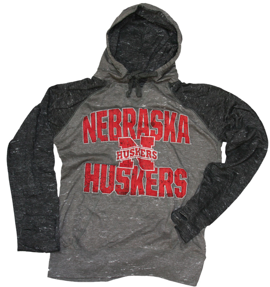 V-Neck Grey & Black TriBurn Hoody Nebraska Cornhuskers, Nebraska  Ladies, Huskers  Ladies, Nebraska  Hoodies, Huskers  Hoodies, Nebraska  Ladies Sweatshirts , Huskers  Ladies Sweatshirts , Nebraska V-Neck Grey & Black TriBurn Hoody, Huskers V-Neck Grey & Black TriBurn Hoody