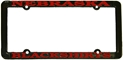 Nebraska Blackshirts License Frame Nebraska Cornhuskers, husker football, blackshirts, license plate, vehicle