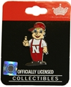 Lil Red Mascot Pin Nebraska Cornhuskers, Mascot Lil Red Pin
