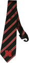 Nebraska Black N Red Striped Tie Nebraska Cornhuskers, husker football, nebraska cornhuskers merchandise, nebraska merchandise, husker merchandise, nebraska cornhuskers apparel, husker apparel, nebraska apparel, husker mens apparel, nebraska cornhuskers mens apparel, nebraska mens apparel, husker mens merchandise, nebraska cornhuskers mens merchandise, mens nebraska accessories, mens husker accessories, mens nebraska cornhusker accessories,Black Nebraska Mens Tie with Red Stripe