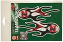 Husker Flame Graphics Stickers Nebraska Cornhuskers, Husker Flame Graphics Stickers