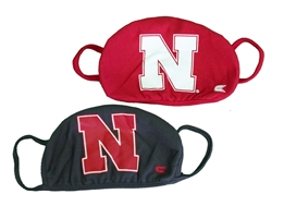Colosseum Husker Masks 2 Pack Nebraska Cornhuskers, Nebraska  Ladies, Huskers  Ladies, Nebraska  Mens, Huskers  Mens, Nebraska  Mens Accessories, Huskers  Mens Accessories, Nebraska  Ladies Accessories, Huskers  Ladies Accessories, Nebraska Nebraska Huskers Mask, Huskers Nebraska Huskers 2 pack Mask