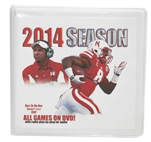 2014 SEASON BOX SET Husker football, Nebraska cornhuskers merchandise, husker merchandise, nebraska merchandise, nebraska cornhuskers dvd, husker dvd, nebraska football dvd, nebraska cornhuskers videos, husker videos, nebraska football videos, husker game dvd, husker bowl game dvd, husker dvd subscription, nebraska cornhusker dvd subscription, husker football season on dvd, nebraska cornhuskers dvd box sets, husker dvd box sets, Nebraska Cornhuskers, 2014 Season