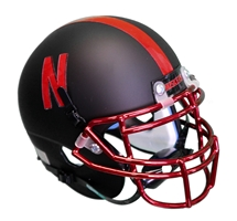 2015 Alternate Mini Helmet Nebraska Cornhuskers, Nebraska Collectibles, Huskers Collectibles, Nebraska 2015 Alternate Mini Helmet, Huskers 2015 Alternate Mini Helmet