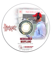 2019 Nebraska vs Maryland Nebraska Cornhuskers, Nebraska  2019 Season, Huskers  2019 Season, Nebraska DVDs 2018 to Present, Huskers DVDs 2018 to Present, Nebraska 2019 Nebraska vs Maryland, Huskers 2019 Nebraska vs Maryland