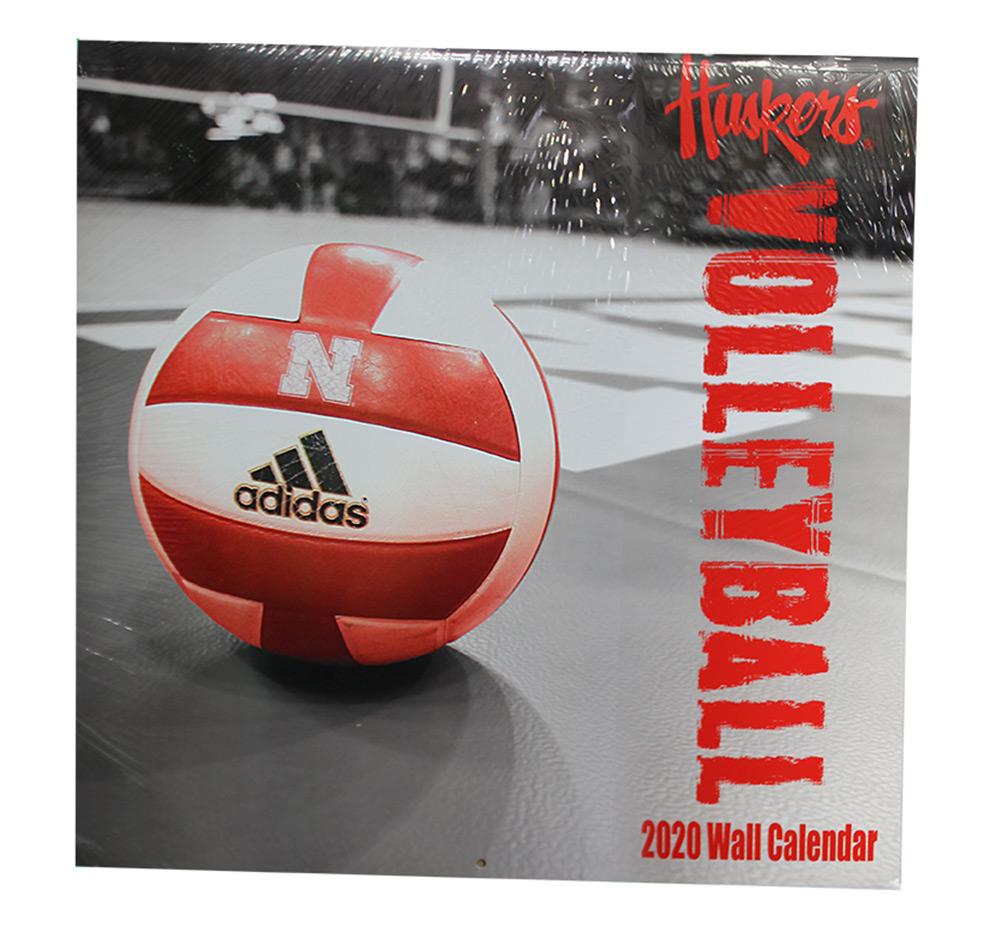 2020 Nebraska Volleyball Wall Calendar