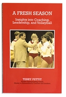 A Fresh Season for Husker Volleyball Nebraska Cornhuskers, Nebraska Books & Calendars, Huskers Books & Calendars, Nebraska Volleyball, Huskers Volleyball, Nebraska Terry Pettit, Huskers Terry Pettit