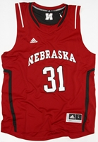 ADIDAS Red BB Jersey #31 Nebraska Cornhuskers, Nebraska  Mens Jerseys, Huskers  Mens Jerseys, Nebraska  Mens Jerseys, Huskers  Mens Jerseys, Nebraska  Basketball, Huskers  Basketball, Nebraska ADIDAS Red BB Jersey #31, Huskers ADIDAS Red BB Jersey #31