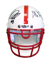 Abdullah N Henery Autographed Mini Speed Helmet Nebraska Cornhuskers, Nebraska  Former Players, Huskers  Former Players, Nebraska  Balls & Helmets, Huskers  Balls & Helmets, Nebraska Collectibles , Huskers Collectibles , Nebraska Martinez Autographed Unrivaled Mini Helmet, Huskers Martinez Autographed Unrivaled Mini Helmet
