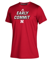 Adidas 2020 Youth Huskers Early Commit Tee Nebraska Cornhuskers, Nebraska  Kids, Huskers  Kids, Nebraska  Youth, Huskers  Youth, Nebraska Adidas, Huskers Adidas, Nebraska Adidas Youth Huskers Early Commit Tee, Huskers Adidas Youth Huskers Early Commit Tee