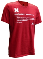 Adidas Cornhuskers Definition Tee Nebraska Cornhuskers, Nebraska  Mens T-Shirts, Huskers  Mens T-Shirts, Nebraska  Mens, Huskers  Mens, Nebraska  Short Sleeve, Huskers  Short Sleeve, Nebraska Adidas, Huskers Adidas, Nebraska Adidas Cornhuskers Definition Tee, Huskers Adidas Cornhuskers Definition Tee