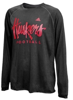 Adidas Huskers Football LS Team Issue Climalite Nebraska Cornhuskers, Nebraska  Mens T-Shirts, Huskers  Mens T-Shirts, Nebraska  Mens, Huskers  Mens, Nebraska  Long Sleeve, Huskers  Long Sleeve, Nebraska Adidas Huskers Football Long Sleeve Climalite, Huskers Adidas Huskers Football Long Sleeve Climalite
