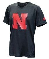 Adidas Huskers Sideline N Training Tee - Black Nebraska Cornhuskers, Nebraska  Mens T-Shirts, Huskers  Mens T-Shirts, Nebraska  Mens, Huskers  Mens, Nebraska  Short Sleeve, Huskers  Short Sleeve, Nebraska Adidas, Huskers Adidas, Nebraska Adidas Huskers Sideline N Training Tee - Black, Huskers Adidas Huskers Sideline N Training Tee - Black