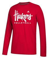 Adidas Huskers Volleyball LS Tee Nebraska Cornhuskers, Nebraska  Mens T-Shirts, Huskers  Mens T-Shirts, Nebraska  Long Sleeve, Huskers  Long Sleeve, Nebraska  Mens, Huskers  Mens, Nebraska Volleyball, Huskers Volleyball, Nebraska Adidas Huskers Volleyball LS Tee, Huskers Adidas Huskers Volleyball LS Tee