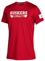 Adidas Huskers Volleyball Locker Amped Tee Nebraska Cornhuskers, Nebraska  Mens T-Shirts, Huskers  Mens T-Shirts, Nebraska  Mens, Huskers  Mens, Nebraska  Short Sleeve, Huskers  Short Sleeve, Nebraska Volleyball, Huskers Volleyball, Nebraska Adidas, Huskers Adidas, Nebraska Adidas Huskers Volleyball Locker Amped Tee, Huskers Adidas Huskers Volleyball Locker Amped Tee