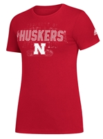 Adidas Huskers Womens ReIssue Tee Nebraska Cornhuskers, Nebraska  Short Sleeve, Huskers  Short Sleeve, Nebraska  Ladies, Huskers  Ladies, Nebraska  Ladies T-Shirts, Huskers  Ladies T-Shirts, Nebraska Adidas, Huskers Adidas, Nebraska Adidas Huskers Womens ReIssue Tee, Huskers Adidas Huskers Womens ReIssue Tee