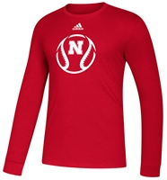 Adidas Nebraska Baseball Amped Tee Nebraska Cornhuskers, Nebraska  Mens T-Shirts, Huskers  Mens T-Shirts, Nebraska  Mens, Huskers  Mens, Nebraska  Short Sleeve, Huskers  Short Sleeve, Nebraska  Baseball, Huskers  Baseball, Nebraska Adidas, Huskers Adidas, Nebraska Adidas Nebraska Baseball Amped Tee, Huskers Adidas Nebraska Baseball Amped Tee