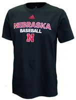 Adidas Nebraska Baseball Tee - Black Nebraska Cornhuskers, Nebraska  Baseball, Huskers  Baseball, Nebraska  Mens T-Shirts, Huskers  Mens T-Shirts, Nebraska  Mens, Huskers  Mens, Nebraska  Short Sleeve, Huskers  Short Sleeve, Nebraska Adidas Nebraska Baseball Tee - Black, Huskers Adidas Nebraska Baseball Tee - Black