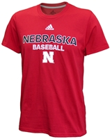 Adidas Nebraska Baseball Tee - Red Nebraska Cornhuskers, Nebraska  Baseball, Huskers  Baseball, Nebraska  Mens T-Shirts, Huskers  Mens T-Shirts, Nebraska  Mens, Huskers  Mens, Nebraska  Short Sleeve, Huskers  Short Sleeve, Nebraska Adidas Nebraska Baseball Tee - Red, Huskers Adidas Nebraska Baseball Tee - Red