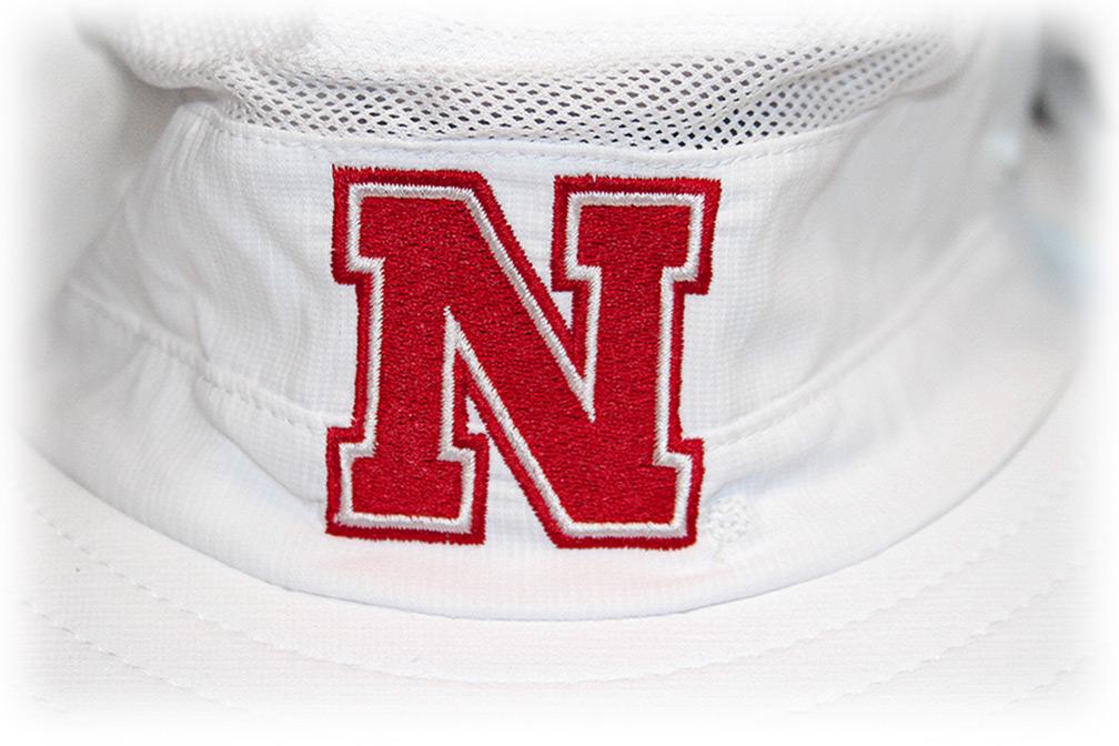 e7f427f233be2 ... Adidas Nebraska N White Safari Hat - HT-96047 ...