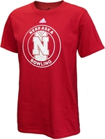 Adidas Nebraska Sports Bowling Tee Nebraska Cornhuskers, Nebraska  Mens T-Shirts, Huskers  Mens T-Shirts, Nebraska  Mens, Huskers  Mens, Nebraska  Other Sports, Huskers  Other Sports, Nebraska  Short Sleeve, Huskers  Short Sleeve, Nebraska Adidas Nebraska Sports Bowling Tee, Huskers Adidas Nebraska Sports Bowling Tee