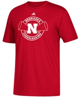 Adidas Nebraska Sports Cheerleading Tee Nebraska Cornhuskers, Nebraska  Mens T-Shirts, Huskers  Mens T-Shirts, Nebraska  Mens, Huskers  Mens, Nebraska  Other Sports, Huskers  Other Sports, Nebraska  Short Sleeve, Huskers  Short Sleeve, Nebraska Adidas Nebraska Sports Cheerleading Tee, Huskers Adidas Nebraska Sports Cheerleading Tee