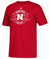 Adidas Nebraska Sports Hockey Tee Nebraska Cornhuskers, Nebraska  Mens T-Shirts, Huskers  Mens T-Shirts, Nebraska  Mens, Huskers  Mens, Nebraska  Other Sports, Huskers  Other Sports, Nebraska  Short Sleeve, Huskers  Short Sleeve, Nebraska Adidas Nebraska Sports Hockey Tee, Huskers Adidas Nebraska Sports Hockey Tee