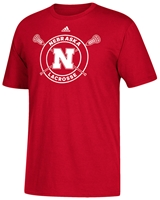 Adidas Nebraska Sports Lacrosse Tee Nebraska Cornhuskers, Nebraska  Mens T-Shirts, Huskers  Mens T-Shirts, Nebraska  Mens, Huskers  Mens, Nebraska  Other Sports, Huskers  Other Sports, Nebraska  Short Sleeve, Huskers  Short Sleeve, Nebraska Adidas Nebraska Sports Lacrosse Tee, Huskers Adidas Nebraska Sports Lacrosse Tee