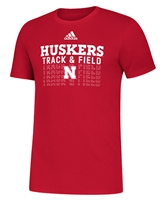 Adidas Nebraska Track N Field Tee Nebraska Cornhuskers, Nebraska  Short Sleeve, Huskers  Short Sleeve, Nebraska  Mens, Huskers  Mens, Nebraska  T-Shirts, Huskers  T-Shirts, Nebraska  Other Sports, Huskers  Other Sports, Nebraska Adidas, Huskers Adidas, Nebraska Adidas Nebraska Track N Field Tee, Huskers Adidas Nebraska Track N Field Tee