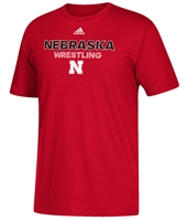 Adidas Nebraska Wrestling Rush Tee Nebraska Cornhuskers, Nebraska  Mens T-Shirts, Huskers  Mens T-Shirts, Nebraska  Mens, Huskers  Mens, Nebraska  Other Sports, Huskers  Other Sports, Nebraska  Short Sleeve, Huskers  Short Sleeve, Nebraska Adidas Nebraska Wrestling Rush Tee, Huskers Adidas Nebraska Wrestling Rush Tee